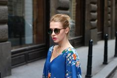 New look on the blog. Fashion. Street style. Summer dress. Balenciaga flats. Inspiration.
