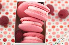 Raspberry Rose Macarons (With Aquafaba!) [Vegan, Gluten-Free]   One Green Planet
