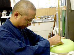ガラス工芸作家 森谷純一  こころを込めてお創りします。