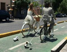 Casamiento en Mendoza,  Argentina.   What a great idea!!!