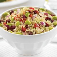 vegan_quinoa salad toss...