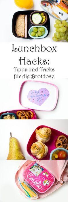 Lunchbox Hacks: die schönsten Tipps und Tricks für die Brotdose - Kindergarten Vesper Ideen