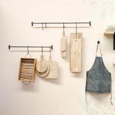 Metal Steel Hanging Rail for Kitchen