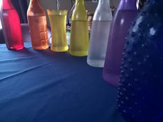 Infusing Super Moon energies in waters using colours of the 7 Chakra energy centers Infused Waters, Super Moon, Worms, Chakra, Markers, Acting, Water Bottle, Life, Chakras