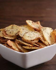 Sei der Mittelpunkt der Party mit diesen Kartoffelchips auf 4 Arten