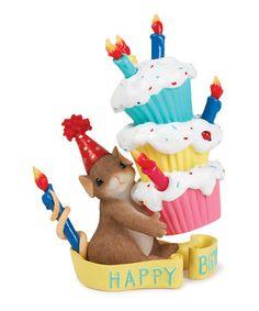 Look what I found on #zulily! Happy Birthday Figurine #zulilyfinds