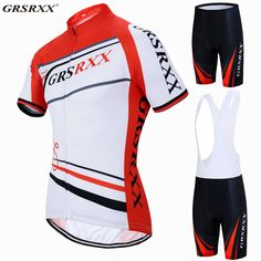 GRSRXX 2017 Breathable Pro Cycling Jersey Set Summer MTB Bike Clothes Bicycle Clothing Hombre Ropa Maillot Ciclismo -*- AliExpress Affiliate's buyable pin. Item can be found  on www.aliexpress.com by clicking the image