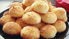 TOP 5 Delicious and Useful Cookie Recipes Coconut Biscuits, Coconut Cookies, Yummy Cookies, Cookie Recipes, Snack Recipes, Good Food, Yummy Food, Czech Recipes, Ethnic Recipes