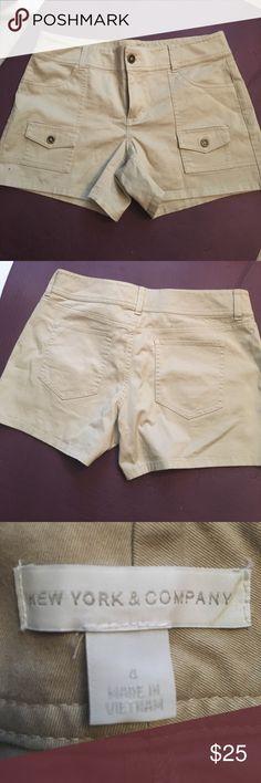 Khaki colored shorts Khaki colored shorts from New York and Company New York & Company Shorts