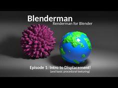 Renderman for Blender Tutorial - Displacement! - BlenderNation