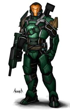 Sci-fi Soldier by Bakabakero on DeviantArt War Pigs, Robot Animal, Armor Clothing, Futuristic Armour, Sci Fi Armor, Future Soldier, Sci Fi Characters, Cool Gear, Science Fiction Art