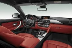 2015 BMW 4 Series Gran Coupe 435i Sedan sleek Interior