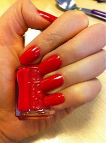 No 14. Essie in Watermelon (£8.50) - No Flash    This polish is described as: 'a creamy and refreshing juicy red' (although to me it is bold bright pink with a red tone!) and is DBP, Toluene and Formaldehyde Free.    Essie is available to buy in the UK from a few sites including Beauty Bay    Top coat - Seche Vite    http://moonflowermakeup.blogspot.co.uk/2012/02/year-of-nail-polish-no14-essie.html