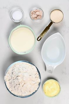 Ingredients for homemade croissant Croissant Recipe, Croissant Dough, Homemade Croissants, Egg Wash, Vegetarian Chocolate, Tray Bakes, Nutella, Baking, Simple