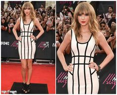 Look Of The Day - Taylor Swift In Hervé Léger by Max Azria