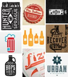 A collection of packaging found in logos and graphics most of which were found on dribble. See the original sources in the link.