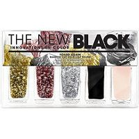 The New Black - Foiled Again Random Cut Gold Leaf Nail Set in Best Face Products, Ulta Products, Beauty Products, Nail Set, Cool Nail Designs, Facial Skin Care, Gorgeous Nails, Nail File, Natural Nails