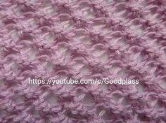The pattern of Karakul knitting. - YouTube