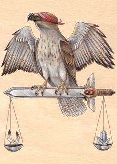 The Wooden Tarot - skullgarden