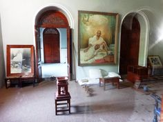 Pune City Tour The Ghandi Internment Room! #ghandimemorial #TravelTuesday                                                                                                                                                                                 More