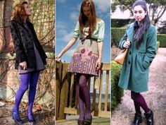 Como usar: Meia-calça colorida, branca, estampada e rendada   Just Lia