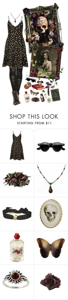 """""""Inside these dirty frames of yours..."""" by beyond-redemption ❤ liked on Polyvore featuring Miss Selfridge, 1928, Vanities, Soap & Paper Factory, Bourjois, Amber Sun and Johnny Loves Rosie"""
