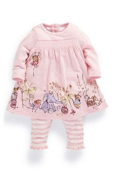 Buy Animal Scene Tunic And Leggings Set (0-18mths) from the Next UK online shop