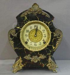 shopgoodwill.com: WM. L. Gilbert Clock Co. Vintage Mantle Clock 903