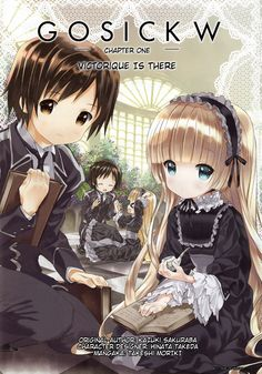 Read manga Gosick W Ch.001: Victorique Is There online in high quality