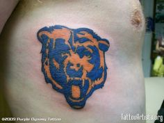 chicago bears tattoos | Chicago Bears - Tattoo Artists.org