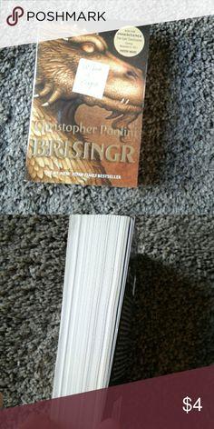 Paperback books Christopher paolini brisinger number 1 new York bestseller Other