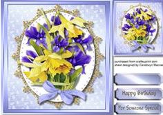 Beautiful Daffs And Irises 3