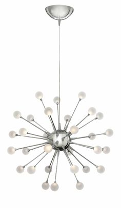 Hinkley Lighting carries many Polished Chrome* Impulse Chandeliers light fixtures that can be used to enhance the appearance and lighting of any home.