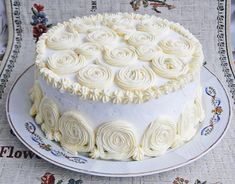 Vanilla Cake, Food And Drink, Birthday Cake, Snacks, Cooking, Desserts, Cakes, Christening, Ideas