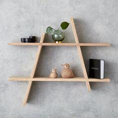 Andersen Furniture online forhandler - køb A-shelf hylde her Plywood Furniture, Small Furniture, Diy Furniture, Furniture Online, Box Shelves, A Shelf, Wooden Shelves, Plywood Shelves, Wood Shelf