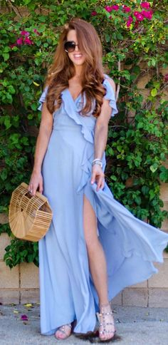 750f7f36 #summer #outfits Periwinkle Has Quickly Become My Favorite Color And I'm  Loving