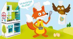 Envie d'un bon gâteau au chocolat ? Léonard et Paulette vous proposent leur recette sur le blog House of Toys.