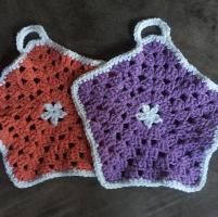 Star Hexagon Dishcloth