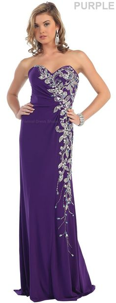 Stretchy Evening Gown