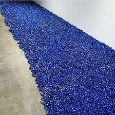 || Art BASEL ||  Title: Gonzales Torres, Untitled 2004 - Blue Pacebo Artist: Sturtevant