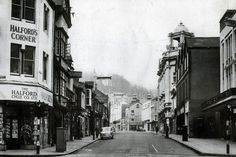 The changing face of Swansea city centre - Wales Online Cymru, Swansea, Wales, Past, Centre, Diesel Locomotive, History, Street, City