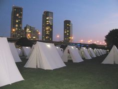 The Encampment - Photo by Ruth Cortez