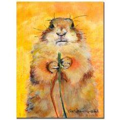 Pat Saunders-White 'Target' Canvas Art