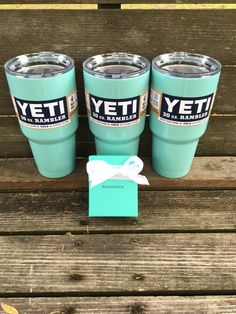 IN STOCK  30oz Colored Yeti Rambler by sassyNcompany on Etsy