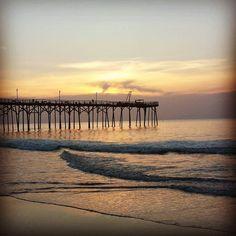Sunrise at Carolina Beach NC today. Life in the human amusement park is wonderFULL!  www.iKEALLEN.com  #beachlife #debtfree #Abundance #northcarolina