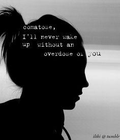 I don't wanna live, I don't wanna breathe unless I feel you next to me. <3 skillet!!!