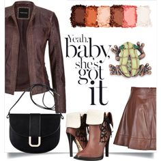 A fashion look from September 2016 featuring maurices jackets, Michael Kors skirts and gx by Gwen Stefani ankle booties. Browse and shop related looks.