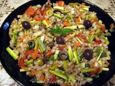 Only for veg people, cereal salad! Sweets Recipes, Salad Recipes, Diet Recipes, Vegetarian Recipes, Healthy Recipes, Salad Dishes, Summer Recipes, Finger Foods, I Foods