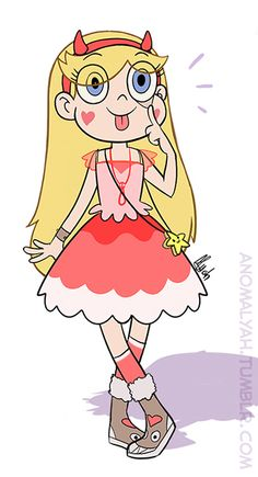 I felt inspired to draw some dress for Star :3