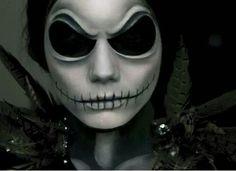 Jack Skellington - Nightmare Before Christmas Makeup Tutorial ...